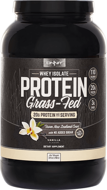Onnit Grass Fed Whey Protein Isolate