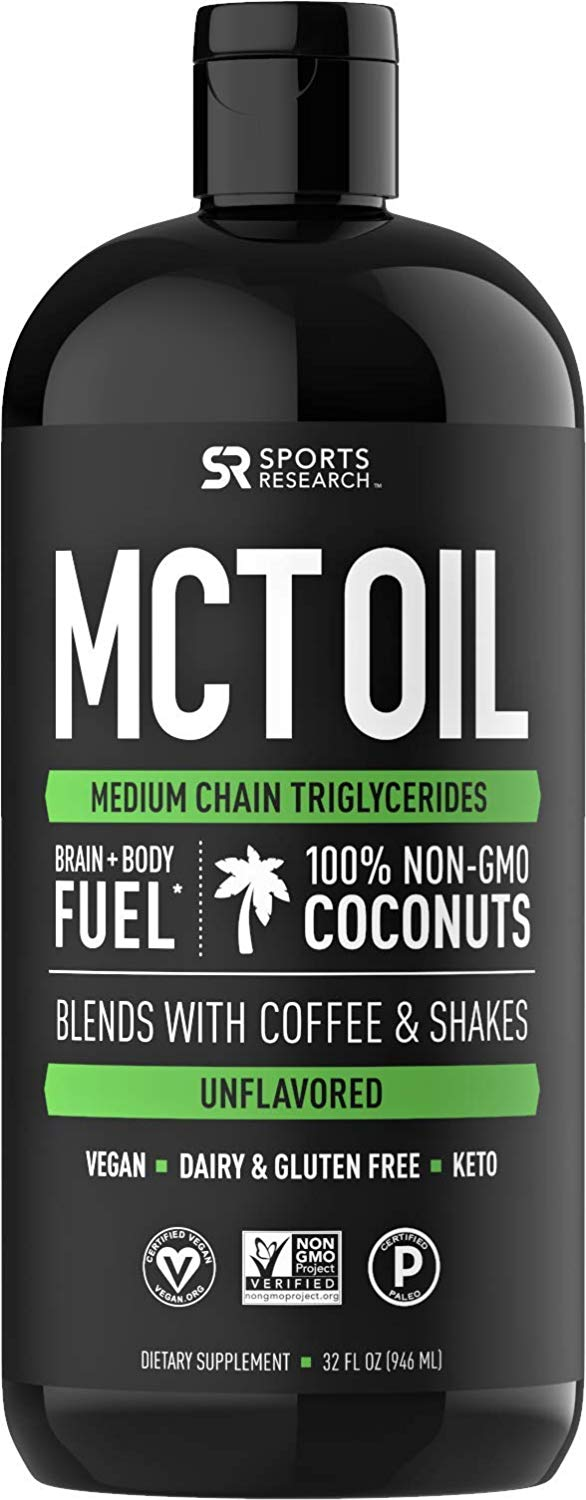 Premium MCT Oil by Sports Research