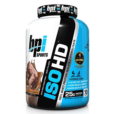 BPI Sports ISO-HD Protein Powder