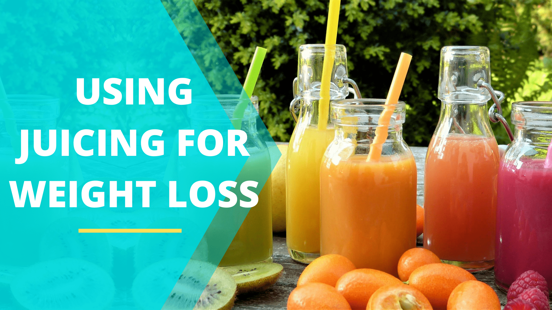 Using Juicing For Weight Loss